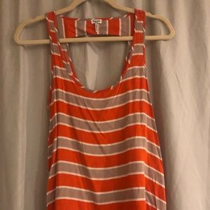 Splendid stripe cotton tank